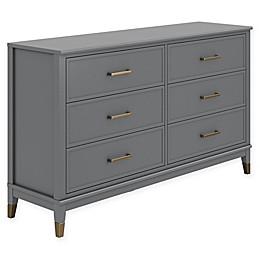 CosmoLiving Westerleigh 6-Drawer Dresser