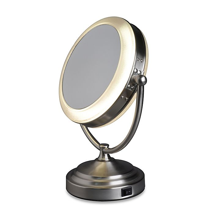 Alternate image 1 for Rialto® 8X/1X Daylight Cosmetic Vanity Mirror