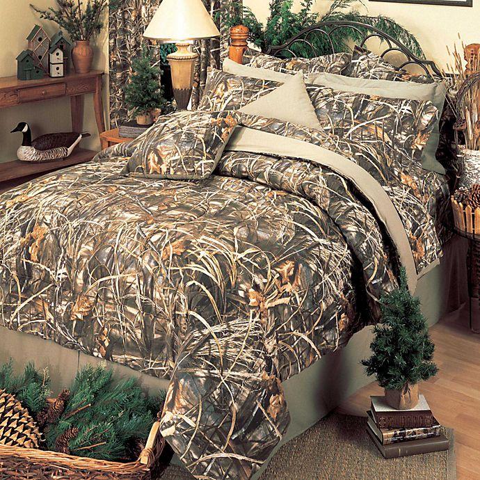 Alternate image 1 for Realtree® Max 4 Comforter Set
