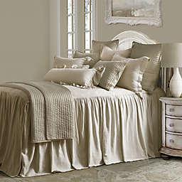 HiEnd Accents Luna 3-Piece King Bedspread Set in Tan