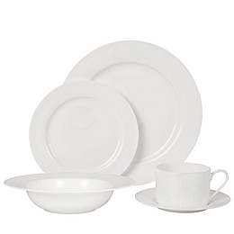 Nevaeh White® by Fitz and Floyd® Rim Dinnerware Collection