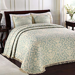 Lamont Home™ All Over Brocade Standard Pillow Sham in Blue