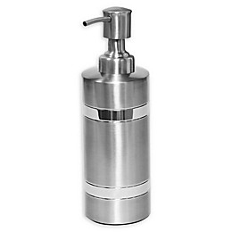 Wamsutta® Aiden Lotion Dispenser in Brushed Metal