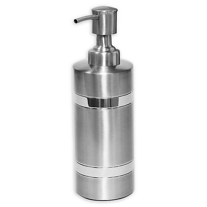 Alternate image 1 for Wamsutta® Aiden Lotion Dispenser in Brushed Metal