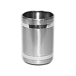 Wamsutta® Aiden Tumbler in Brushed Metal