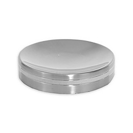 Wamsutta® Aiden Soap Dish in Brushed Metal