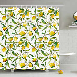 Ambesonne Lemons Shower Curtain