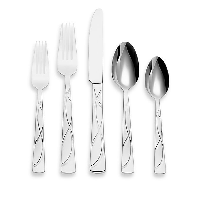 Alternate image 1 for Lenox® Vibe™ 22-Piece Flatware Set
