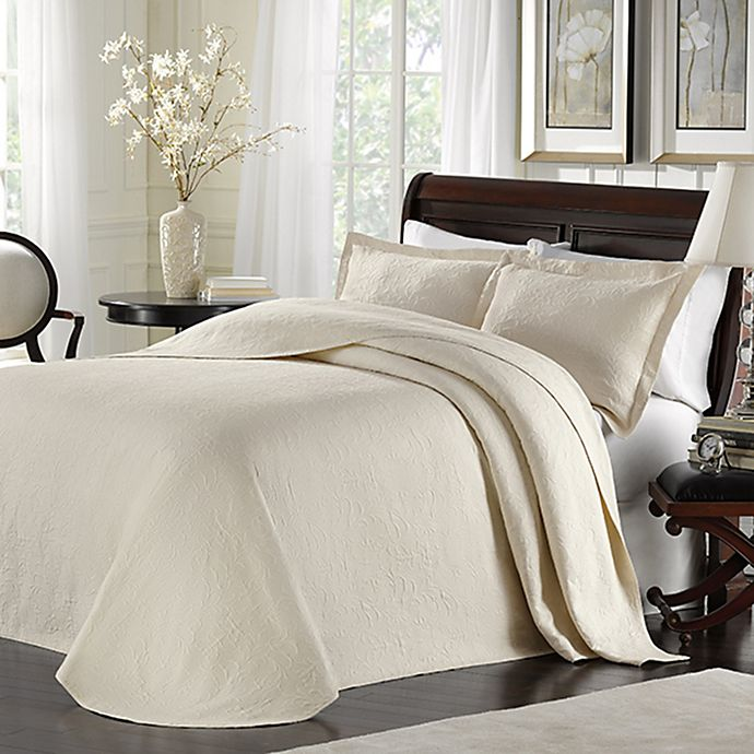 Alternate image 1 for Lamont Home™ Majestic Bedspread in Ivory