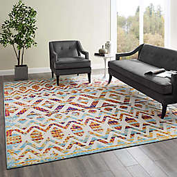 Modway Tamako Trellis Indoor/Outdoor Area Rug