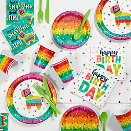 Creative Converting™ 81-Piece Fiesta Fun Birthday Party Supplies Kit