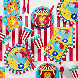 Creative Converting™ 81-Piece Circus Animals Party Supplies Kit