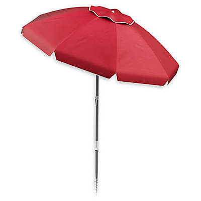 Pure Garden 7-Foot Round Beach Umbrella