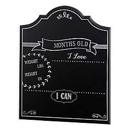 Lillian Rose™ Keepsakes Monthly Baby Chalkboard Sign in Black