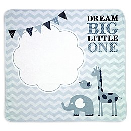 "Lillian Rose™ ""Dream Big"" Milestone Blanket Set in Grey"