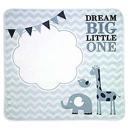 "Lillian Rose™ ""Dream Big"" Milestone Blanket Set in Grey"