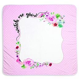 "Lillian Rose™ ""Watch Me Grow"" Milestone Blanket Set in Pink"