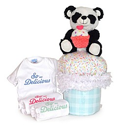 Silly Phillie® Creations Diaper Cupcake Gift Set