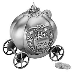 Lillian Rose™ Fairy Tale Coin Bank in Silver