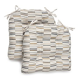 Brentwood Originals Chaotic Oversized Memory Foam Chair Pads (Set of 2)