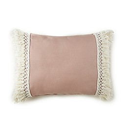 Levtex Baby® Fiori Collection Oblong Throw Pillow in Blush
