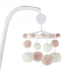 Levtex Baby® Fiori Collection Musical Mobile in Blush/Ivory