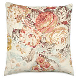 Stapleton Park Square Throw Pillow in Bouquet