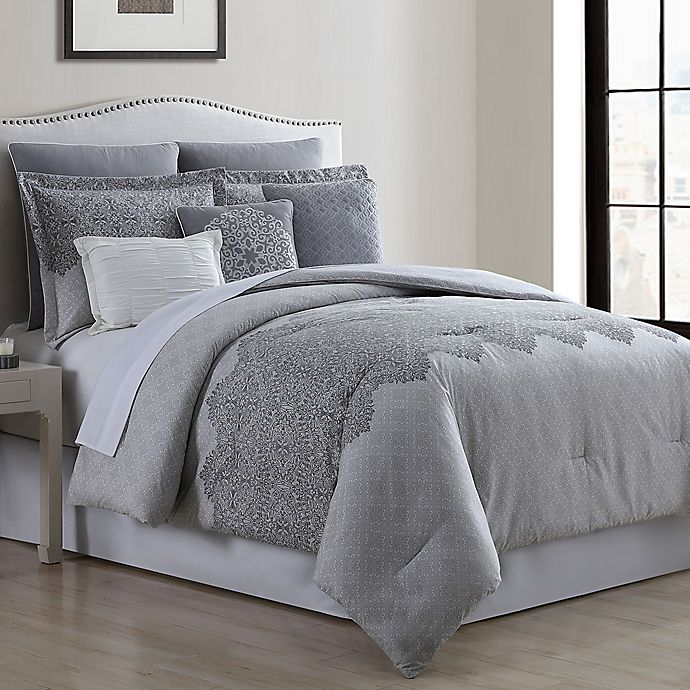 Alternate image 1 for Raquel 8-Piece Comforter Set