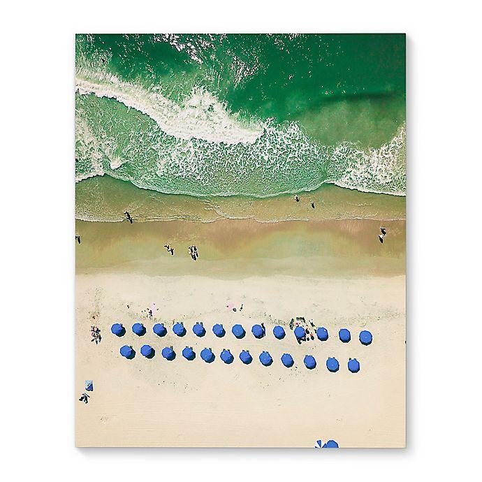 Alternate image 1 for Kavka Designs 16-Inch x 20-Inch Overhead Beach Canvas Wall Art