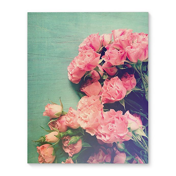 Alternate image 1 for Kavka Designs 16-Inch x 20-Inch Floral Lounge Canvas Wall Art