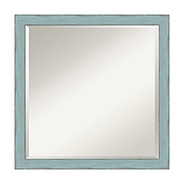 Amanti Art Sky 22-Inch Square Vanity Mirror in Sky Blue