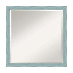 Amanti Art Sky 22-Inch Square Vanity Mirror in Sky Blue