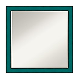 Amanti Art French 22-Inch Square Vanity Mirror in Teal