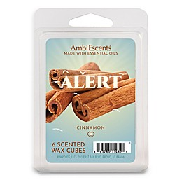 AmbiEscents™ Alert Cinnamon 6-Pack Wax Fragrance Cubes