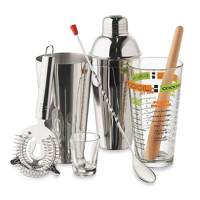 Alternate image 1 for Libbey® 9-Piece Cocktails Mixologist Set