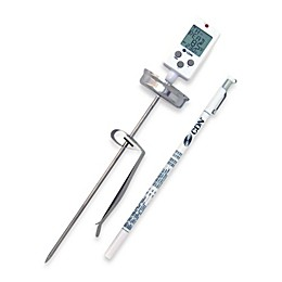 CDN Stainless Steel Digital Candy Cooking Thermometer