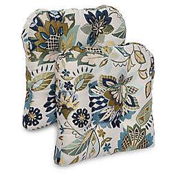 Brentwood Originals Falisha Non-Skid Chair Pads (Set of 2)