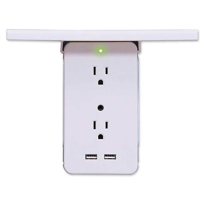 Alternate image 1 for Socket Shelf™ Surge Protector