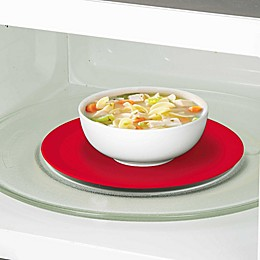 Prep Solutions 9.5-Inch Silicone Microwave Mat in Red