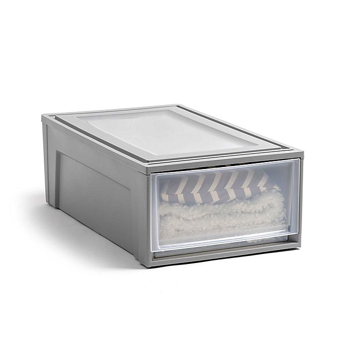 Alternate image 1 for IRIS® LOFT Underbed Stacking Drawer