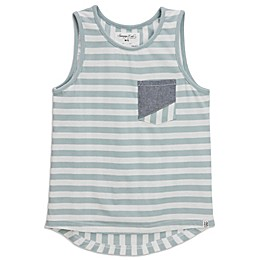 Sovereign Code Striped Tank in Seafoam