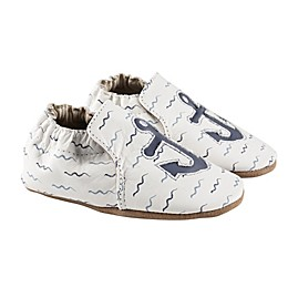 Robeez® On Board Anchor Casual Shoe in White