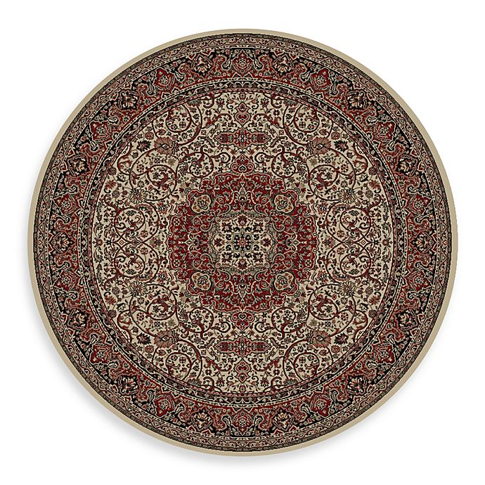 Alternate image 1 for Concord Global Isfahan 7-Foot 10-Inch Round Rug in Ivory