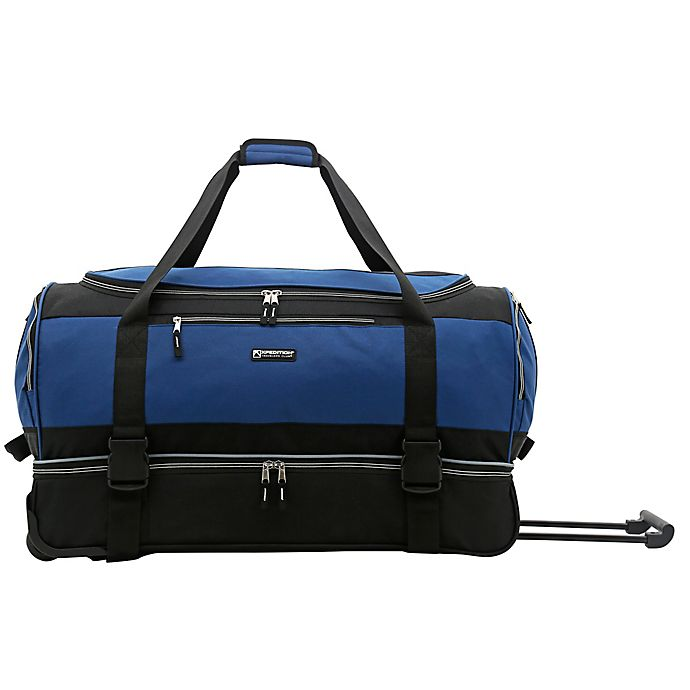 Alternate image 1 for Traveler's Club® XPedition 30-Inch Rolling Drop-Bottom Duffle Bag