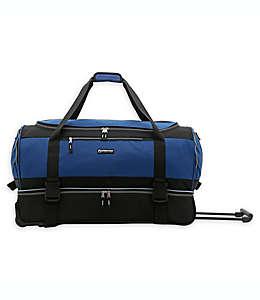 Bolsa de viaje con ruedas XPedition Traveler's Club® de 76.2 cm en negro/azul marino