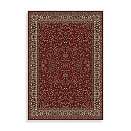 Concord Global Trading Kashan Rug in Red
