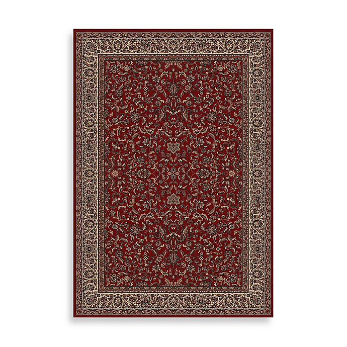 Alternate image 1 for Concord Global Trading Kashan Rug in Red