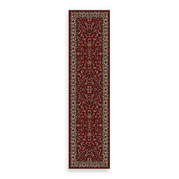 Concord Global Trading Kashan 2' x 7'7 Runner in Red