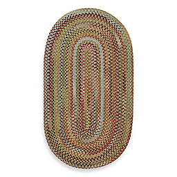 Capel Kill Devil Hill Oval Indoor Braided Rug - Multi