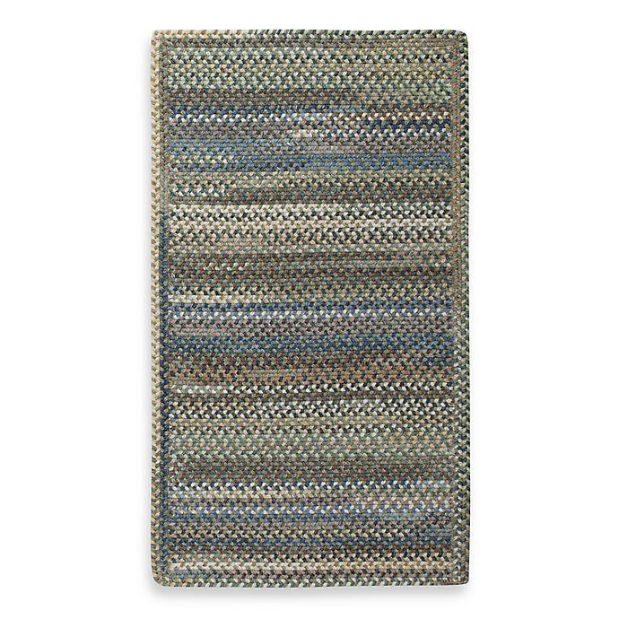 Alternate image 1 for Capel Kill Devil Hill 2-Foot 3-Inch x 9-Foot Indoor Braided Rug - Dark Green